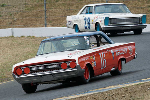 Ken Epsman with 1964 Mercury Marauder in Group 5 -  at the 2016 SVRA Sonoma Historics - Sears Point Raceway