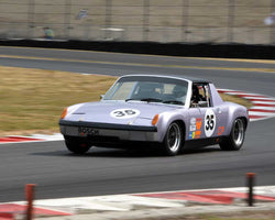 Kevin Shaha with 1970 Porsche 914with6 in Group 8 - Production Sports Cars and Sedan 1973-1985 at the 2015 Portland Vintage Racing Festival at Portland International Raceway