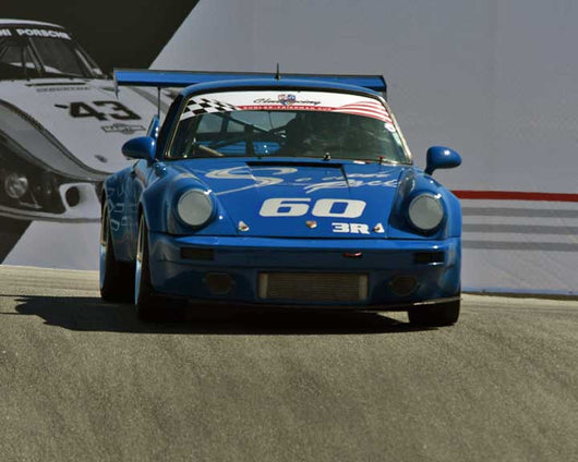 Paul Gautowski with 1975 Porsche 911 RSR in Group 1 - PCA Sholar-Friedman Cup at the 2015 Rennsport Reunion V, Mazda Raceway Laguna Seca