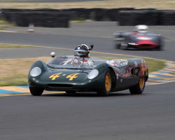 Michael Summers with 1962 Lotus 23B in Group 4  at the 2016 CSRG David Love Memorial - Sears Point Raceway