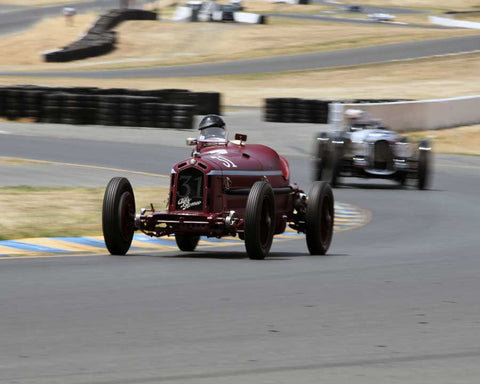 Peter Giddings with 1932 Alfa Romeo Monza in Group 1 - Pre-1941 Sport and Touring, 1925-1941 Racing Cars at the 2015 Sonoma Historic Motorsports Festival at Sonoma Raceway