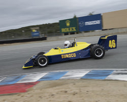Cal Meeker driving his Ralt RT1 in Group 2 at the 2015 HMSA Spring Club Event at Mazda Raceway Laguna Seca