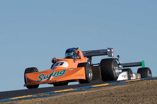 David Alvarado - 1976 March 76B in Group 7 -  at the 2016 Charity Challenge - Sonoma Raceway