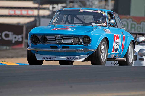 Shelly Zide - 1972 Alfa Romeo GTV in Group 2 - Small Displacement Production Sports Cars through 1967 at the 2017 CSRG Charity Challenge run at Sonoma Raceway