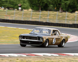 Ken Sutherland with 1968 Ford Mustang 427 in Group 5 - WSC and World Manufactuer's Championship 1960-1972 at the 2015 Portland Vintage Racing Festival at Portland International Raceway