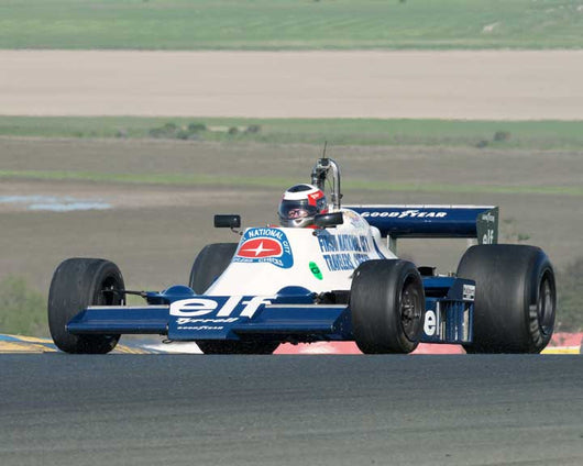 John Goodman with 1978 Tyrrell F1 008 in Group 7  at the 2016 CSRG David Love Memorial - Sears Point Raceway