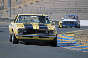 Rick Jeffery - 1967 Chevrolet Z28 in Group 8 -  at the 2016 Charity Challenge - Sonoma Raceway