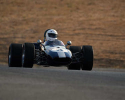 Robert Forbes with 1967 Brabham BT21 in  Group 7 at the 2015 Season Finale at Thunderhill Raceway