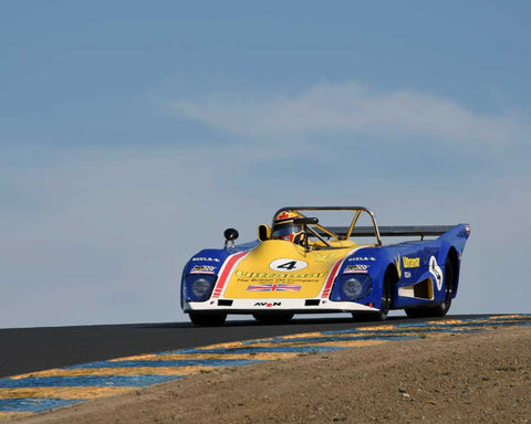 Mike Thurlow with 1973 Lola T294 in Group 11 - 1966-1974 Historic Can-Am and 1971-1979 FIA Cars at the 2015 Sonoma Historic Motorsports Festival at Sonoma Raceway