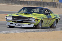 Richard Goldsmith - 1970 Dodge Challenger in Group C/1966-1972 Trans-Am at the 2017 SCRAMP Spring Classic run at Mazda Raceway Laguna Seca