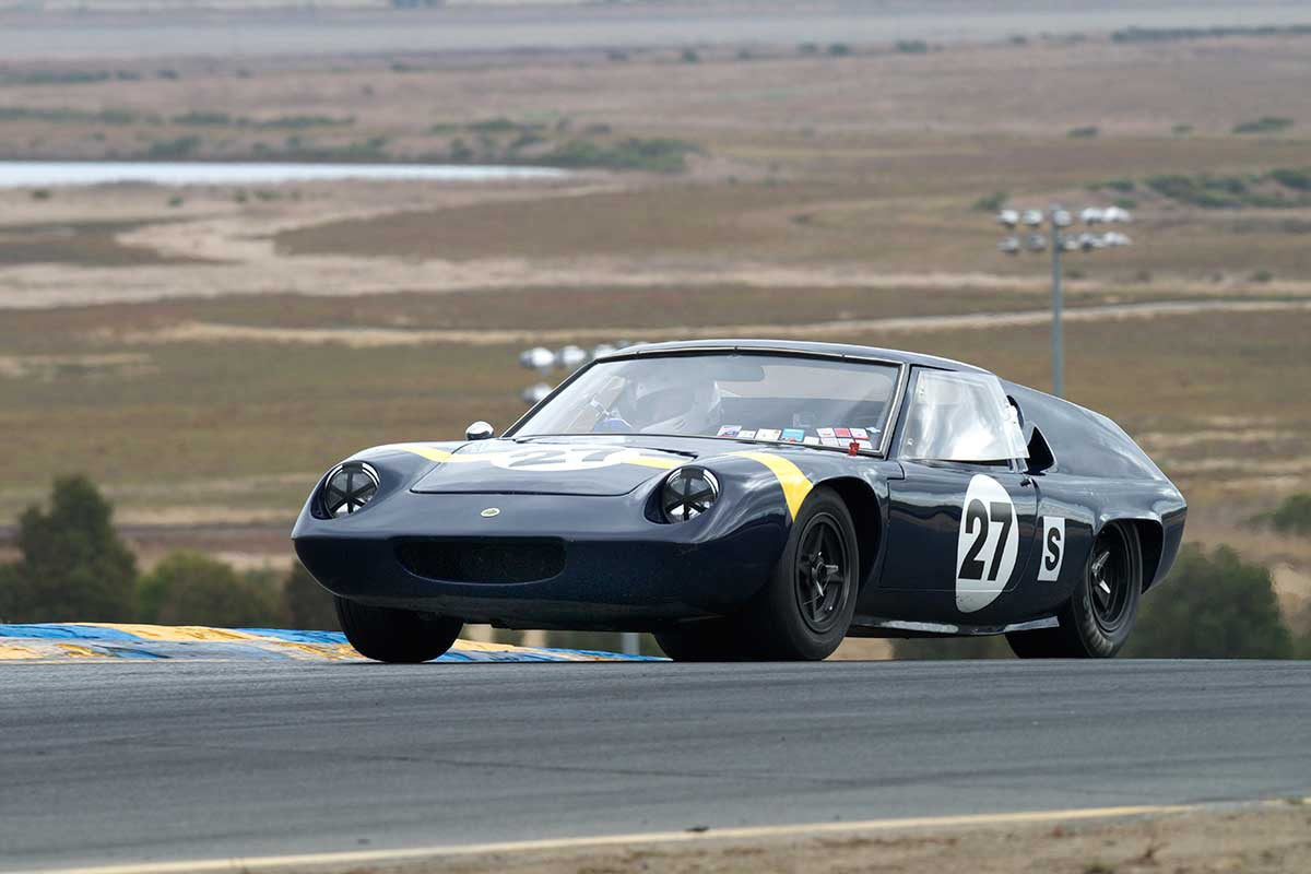 Jay Embree - 1966 Lotus Type 47 in Group 3 -  at the 2016 Charity Challenge - Sonoma Raceway