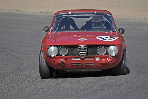 Deborah Briscoe - 1973 Alfa Romeo GTV in Group 2B at the 2017 SOVREN Pacific Northwest Historicsrun at Pacific Raceways