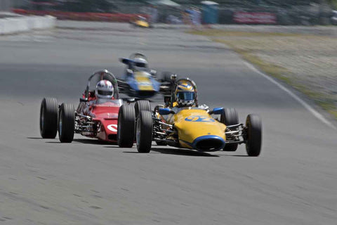 Formula Ford Cars in Group 4 at the 2017 SOVREN Pacific Northwest Historicsrun at Pacific Raceways