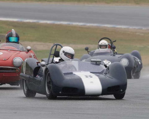 Paul Adams with 1962 Elva Mk6 in Group 1  at the 2016 CSRG David Love Memorial - Sears Point Raceway