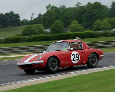 Robert Bodin with 1964 Lotus 26R in Group 2  at the 2015 HMSA Barber Historics