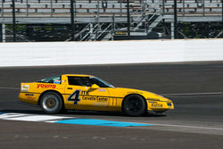 Ray Zisa - 1990 Chevrolet Corvette - Group 12A at the 2017 Brickyard Vintage Racing Invitational run at Indianapolis Motor Speedway