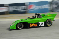 Brian Groza - 1975 Sauber C4 in Group 4 at the 2017 HMSA Spring Club Event - Mazda Raceway Laguna Seca