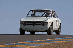 <p>Patrick Hung - 1967 Alfa Romeo GT 1300 Junior in Group 1 -  at the 2016 Charity Challenge - Sonoma Raceway</p>