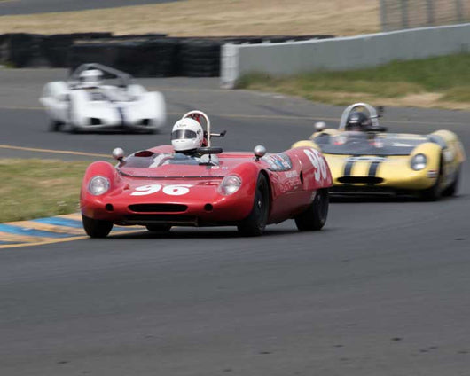 James Roth with 1962 Lotus 23B in Group 4  at the 2016 CSRG David Love Memorial - Sears Point Raceway