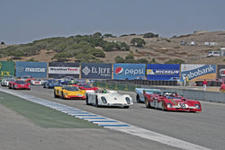 Group 3B  at the 2016 Rolex Monterey Motorsport Reunion - Mazda Raceway Laguna Seca