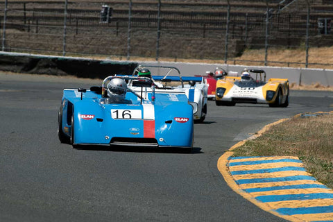 Randall Smith with 1971 Chevron Bwith19 in Group 11 at the 2016 SVRA Sonoma Historics - Sears Point Raceway