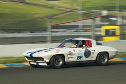 Dan Payne - 1963 Chevrolet Corvette in Group 3 at the 2017 CSRG David Love Memorial - Sears Point Raceway