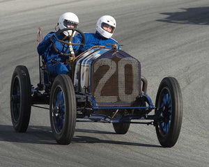 Brody Blain with 1911 National 40 in Group 1A - Pre 1940 Sports Racing and Touring Cars at the 2015-Rolex Monterey Motorsport Reunion, Mazda Raceway Laguna Seca