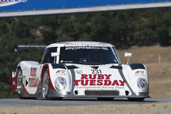 Ernie Spada Jr. - 2007 Riley Scott  MkXI in 1983-2007 WSC-LMP & 1966-1972 Can-Am/Group F at the 2017 SCRAMP Spring Classic run at Mazda Raceway Laguna Seca