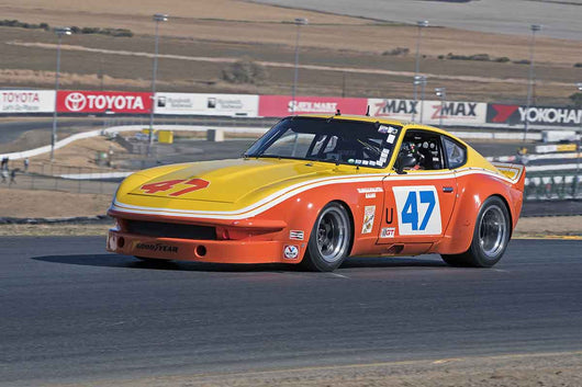 David Martin - 1970 Datsun 240 Z in Group 8 -  at the 2016 Charity Challenge - Sonoma Raceway