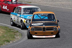 Terry Forland with 1968 BMW 2002 TA in Groups 2&3  at the 2016 SOVREN Spring Sprints, Pacific Raceway