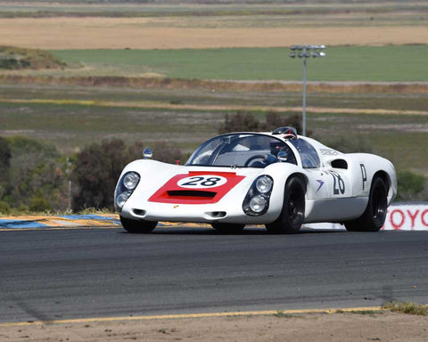 Stephen Thein with 1967 Porsche 910 in Group 7 - 1959-1966 Sports Racing and 1964-1970 FIA Cars at the 2015 Sonoma Historic Motorsports Festival at Sonoma Raceway