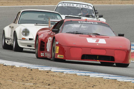 Todd Morici - 1980  Ferrari 512 BBLM in Group 4A  at the 2016 Rolex Monterey Motorsport Reunion - Mazda Raceway Laguna Seca