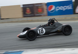 Rocky Taylor driving his Autodynamics Mk Iv in Group 1 at the 2015 HMSA Spring Club Event at Mazda Raceway Laguna Seca