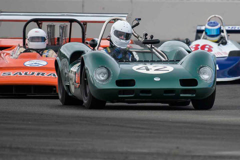 Arthur Cook - 1965 Elva Mk8 in Group 1/3/4 at the 2017 SVRA Portland Vintage Racing Festivalrun at Portland International Raceway