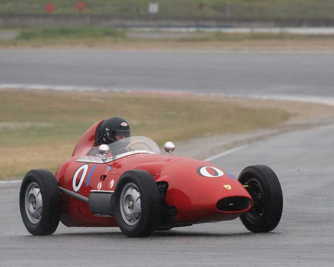 Mark Sange with 1959 Lancia Dagrada in Group 1  at the 2016 CSRG David Love Memorial - Sears Point Raceway