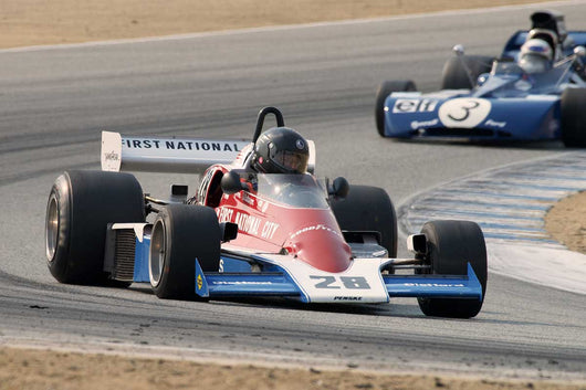 Doug Mockett - 1976 Penske PC 4 in Group 7B  at the 2016 Rolex Monterey Motorsport Reunion - Mazda Raceway Laguna Seca