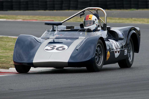 Ron Federspiel with 1964 Crusader Sports Racer in Group 4 -  at the 2016 Portland Vintage Racing Festival - Portland International Raceway