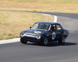Francois Castaing driving his 1970 Ford Escort RS in Group 3/8 at the 2015 CSRG Thunderhill Rolling Thunder at Thunderhill Raceway