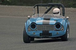 Alec Buchan - 1962 Triumph TR4 in Group 1 at the 2017 SOVREN Spring Sprints run at Pacific Raceways