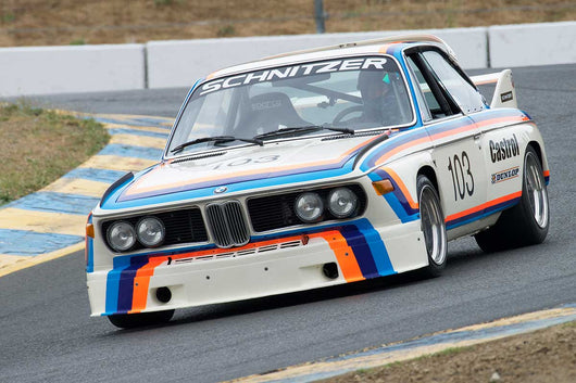 Thor Johnson with 1974 BMW Schnitzer 3.5 Liter in Group 12 at the 2016 SVRA Sonoma Historics - Sears Point Raceway