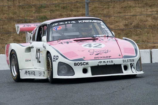Ranson Webster with 1976 Porsche 935 K3 in Group 12 at the 2016 SVRA Sonoma Historics - Sears Point Raceway
