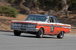 Roland Malschafsky - 1964 Mercury Comet Caliente in Group 4B - 1963-1966 GT Cars over 2500cc at the 2017 Rolex Monterey Motorsport Reunion run at Mazda Raceway Laguna Seca