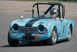 Alec Buchan with 1962 Triumph TR4 in Group 1 - at the 2016 SOVREN Spring Sprints, Pacific Raceway