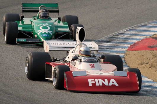 Harindra De Silva - 1974 Surtees TS 16 in Group 7B  at the 2016 Rolex Monterey Motorsport Reunion - Mazda Raceway Laguna Seca