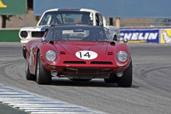 John Fudge - 1966 Bizzarrini 5300GT in Group 6B  at the 2016 Rolex Monterey Motorsport Reunion - Mazda Raceway Laguna Seca