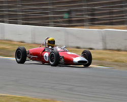 Marty Benck with 1962 Lotus 22 F with Jr in Group 8 - 1956-1963 Formula Junior cars at the 2015 Sonoma Historic Motorsports Festival at Sonoma Raceway