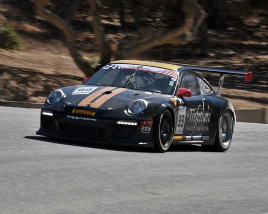 John Trefethen with 2012 Porsche 997 Cup in Group 1 - PCA Sholar-Friedman Cup at the 2015 Rennsport Reunion V, Mazda Raceway Laguna Seca