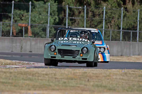 John Levitt - 1968 Datsun Fairlady 2000 in Group 8 at the 2017 SVRA Portland Vintage Racing Festival run at Portland International Raceway