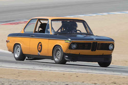 Alec Hugo - 1969 BMW 2002 in 1966-1972 Trans-Am 2.5-Litre/Group E at the 2017 SCRAMP Spring Classic run at Mazda Raceway Laguna Seca