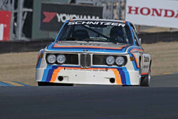 Thor Johnson - 1974 BMW Schnitzer 3.5 Liter in 1970-79 IMSA GT Cars - Group 12 at the 2017 SVRA Sonoma Historic Motorsports Festivalrun at Sonoma Raceway